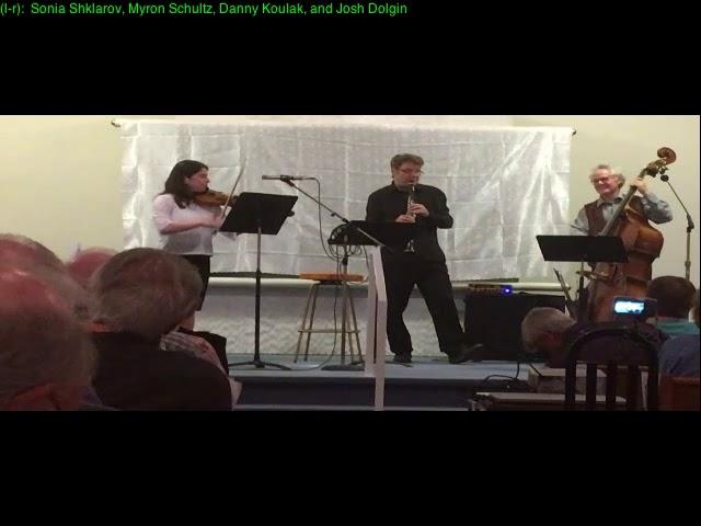 Klezmer Concert Sept  9, 2017