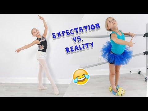 Expectation vs. Reality: First Day of Dance School EVER   Lilly K   Funny