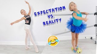 Expectation vs. Reality: First Day of Dance School EVER | Lilly K | Funny
