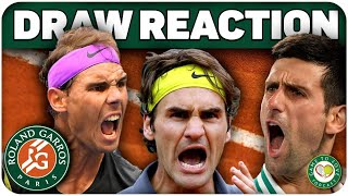 Roland Garros Instant Draw Reaction!   GTL Tennis Podcast #168