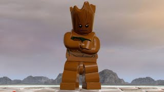 groot playing video games infinity war