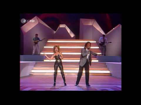 Jermaine Jackson & Pia Zadora - When the Rain Begins to Fall (ZDF HD 1985)