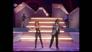 Jermaine Jackson Pia Zadora When The Rain Begins To Fall ZDF HD 1985