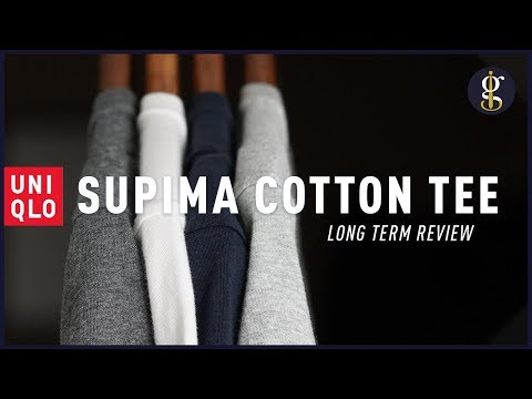 UNIQLO Supima Cotton T-Shirt Review [Best Value Tees For Men?]