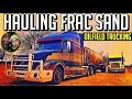 Hauling Frac Sand in West Texas. Oilfield Trucking. No Loads! No Bueno!