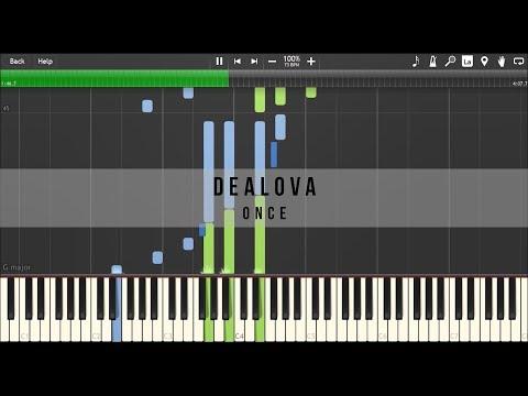 Dealova OST : Once - Dealova (Piano Tutorial)