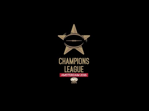 AFL Europe Champions League 2016