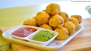 Gujarati Batata Vada Recipe | Quick & Easy Fast Food Recipes By Nikunj Vasoya