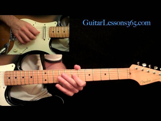 AC/DC – Thunderstruck Guitar Lesson Pt.3 – Guitar Solo | Riff Channel