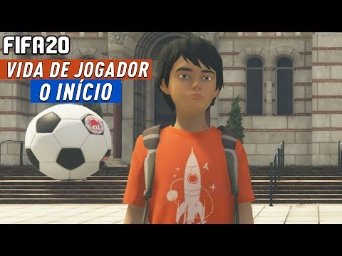 COMEÇA O SONHO DE CRIANÇA! - VIDA DE JOGADOR #01   FIFA 20