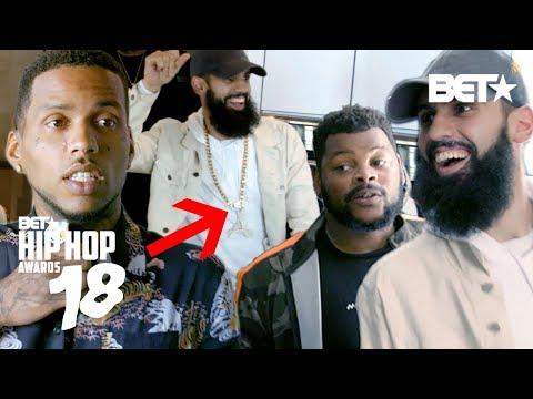 DanRue STEALS Kid Ink's Chain w/ NicknPattiWhack | Crashing into Hip Hop Awards 2018