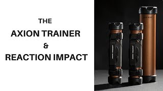 The AxionTrainer and REACTION IMPACT