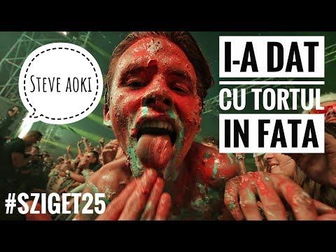 STEVE AOKI I-A ARUNCAT UN TORT IN FATA!