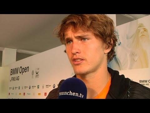 Tennisstar Alexander Zverev weiter bei den BMW Open