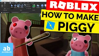 How To Make A Piggy Game In Roblox - Piggy / Granny Tutorial - Ep 1
