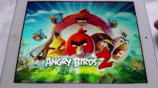 Angry Birds 2: O jogo tá lindo!!! iPad e Android