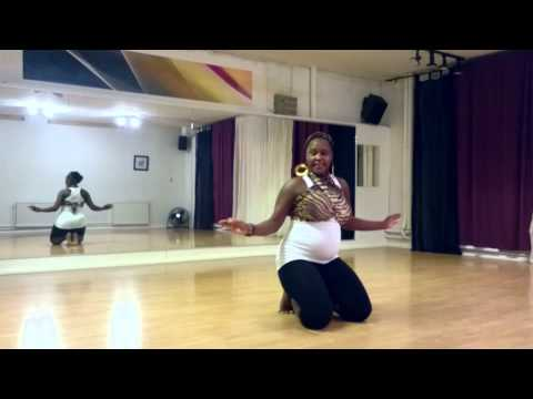 Dbanj Ft Akon – Feeling The Nigga dance 7 months pregnant