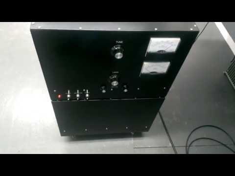 linear amplifier 2 gs35b Russian tubes By W   FunnyDog TV