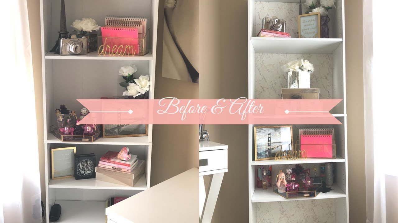 Diy Affordable Bookshelf Makeover Using Contact Paper