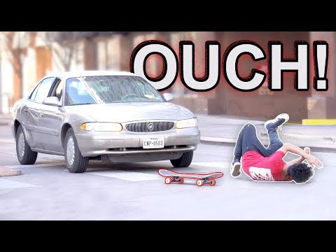 Falling Off My Skateboard Prank