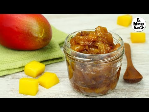 Sweet & Spicy Mango Chutney