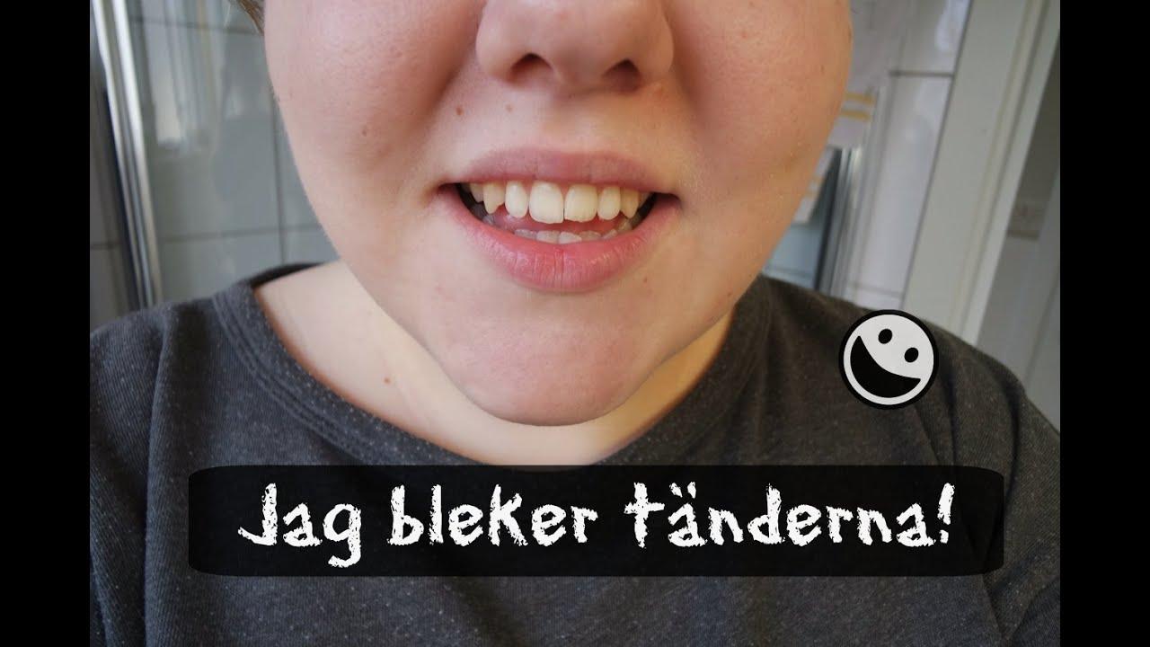 bleka tänder med bakpulver