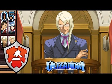 Apollo Justice: Ace Attorney - Kristoph Testifies, Magical Delivery, The Bloody Ace - Episode 5