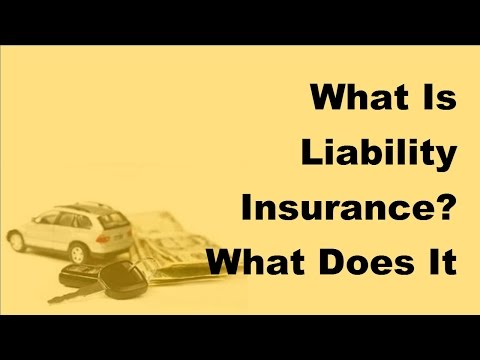 What Is Liability Insurance | What Does It Include -  2017