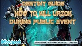 Destiny Guide : How To Kill