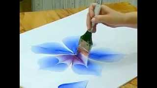 How To Draw Flowers (Roses) with Acrylic