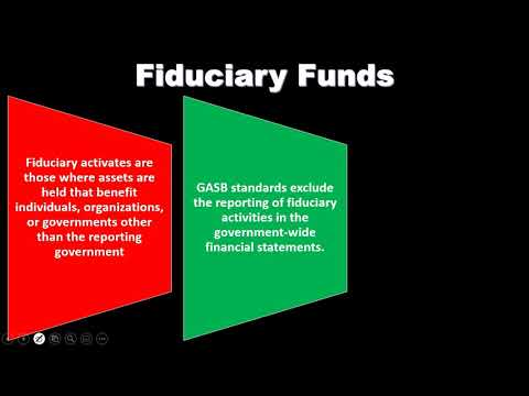 Fiduciary Funds Overview - Governmental Accounting