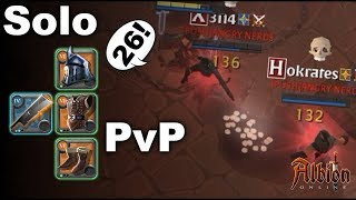 Albion online Solo PvP|26 HUNT OR BE HUNTED? Cruel Open World PvP