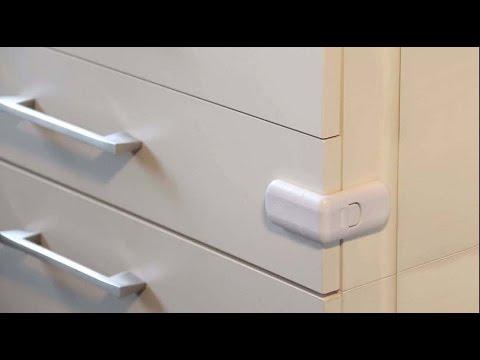 Blocca Ante Fai Da Te.Sicurezza Infantile Blocco Per Cassetti A 1044000 Youtube
