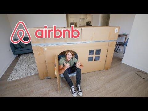 外国小哥出租纸箱房子到Airbnb,客人是什么反应?