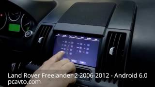 Land Rover Freelander 2 2006-2012 - Android 6.0 HD