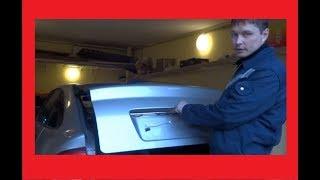 Лада Приора хетчбек Почему ржавеет дверь багажника приоры? Коррозия задней двери приоры.