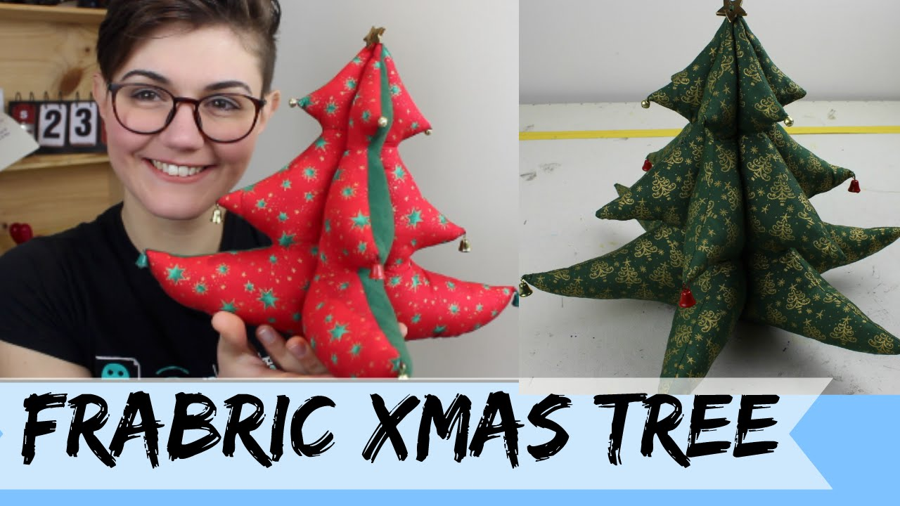 DIY: Fabric Xmas Tree