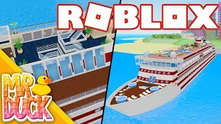 RENOVATING MY OSPREY SHIP! - Roblox Cruise Ship Tycoon