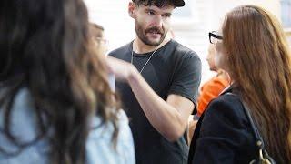 Marc Jacobs Spring 2017 featuring Frances Bean Cobain.