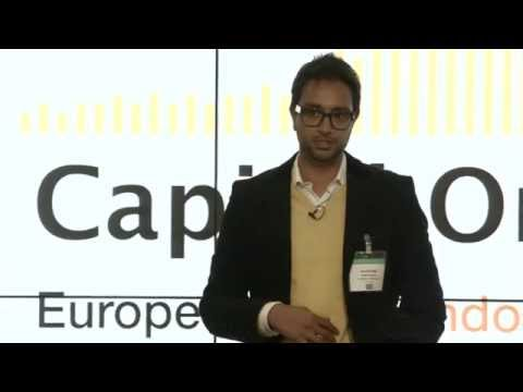 VC Pitch - Hussein Kanji, Hoxton Ventures (at Capital On Stage London 2014)