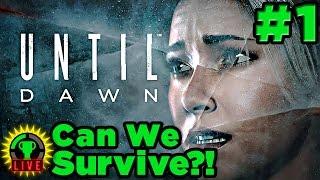 GT Live: Until Dawn - Can YOU Help Us Survive?! (Part 1)