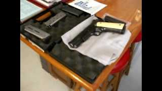 1911 armscore ivory wood grips.