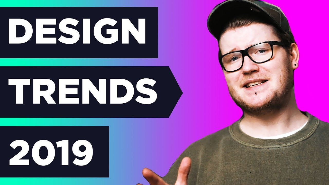 [VIDEO] - 7 HUGE NEW Graphic Design TRENDS in 2019 ❓ 7