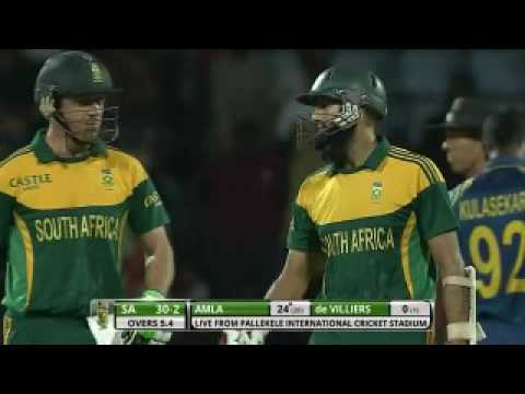 Hashim Amla`s 100  against  Sri Lanka