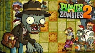 EL ZOMBIE INDIANA JONES ES UN PESADO - Plants vs Zombies 2