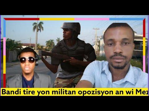 BANDI TIRE YON MILITAN OPOZISYON AN , VIN TANDE