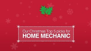 Top 5 Christmas Gifts For The Home Mechanic
