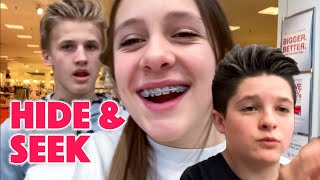 HIDE & SEEK at the MALL with FRIENDS!!
