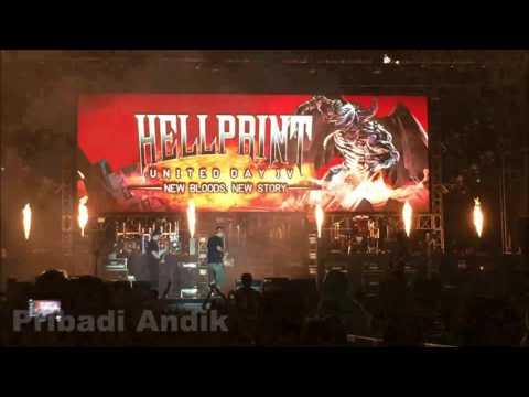 Seringai Live at Hellprint 2016 - United Day IV #Edankeun
