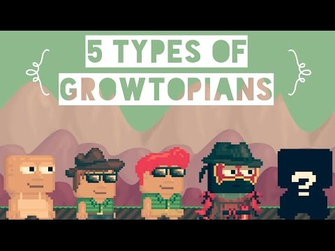 5 Types of Players in Growtopia [2015]